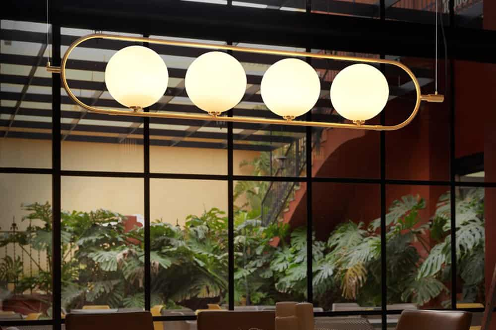 Abbacus design lamp by Aromas del Campo