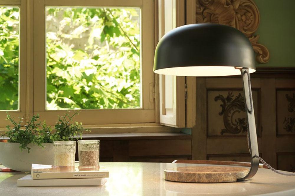 Marbre design lamp by Aromas de Campo